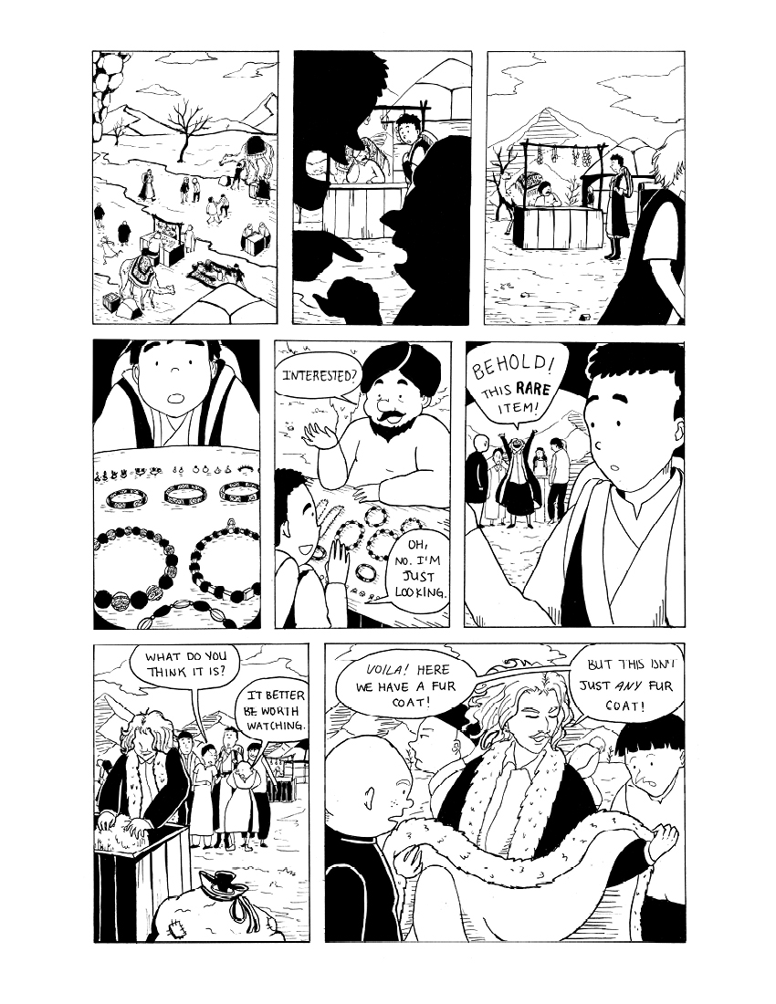 """""""Wayfaring Stranger"""" Page 2 of 5"""