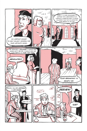 Jeeves and the Unbidden Guest - Page 11 of 12