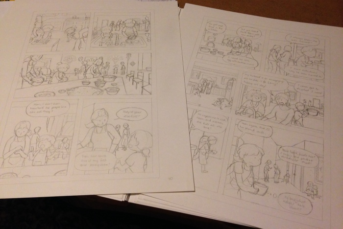 30 Penciled Pages