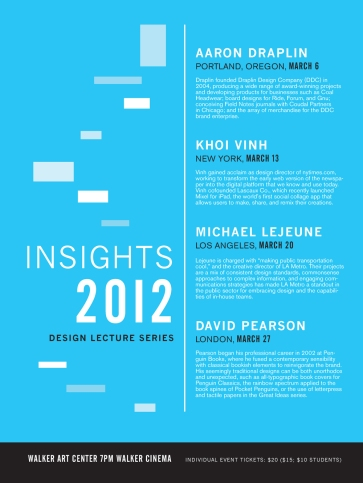 Insights 2012 Poster