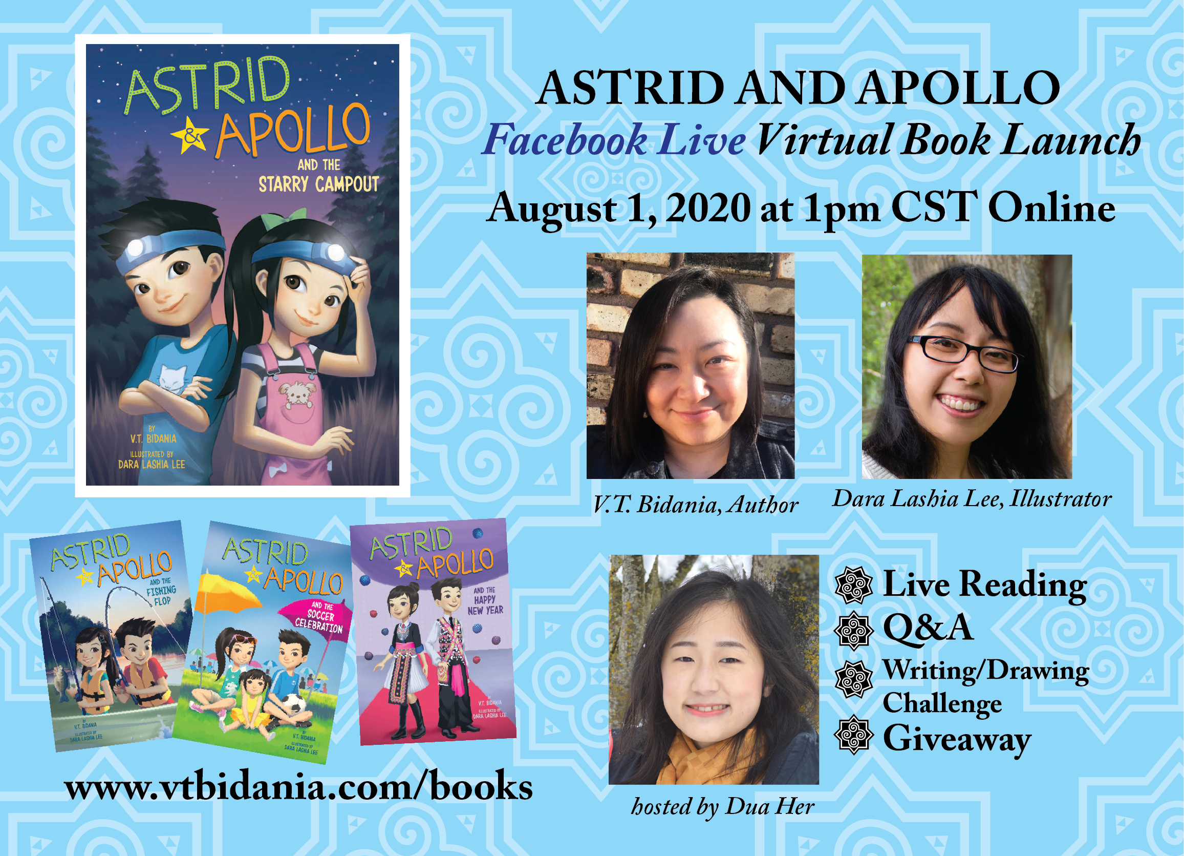 Astrid and Apollo flyer